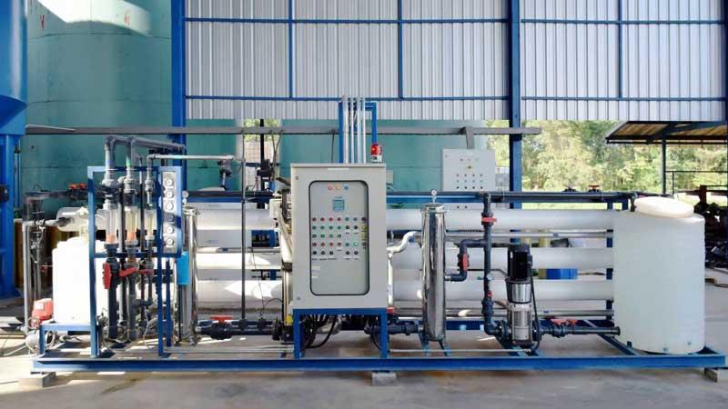 سیستم تصفیه آب اسمز معکوس