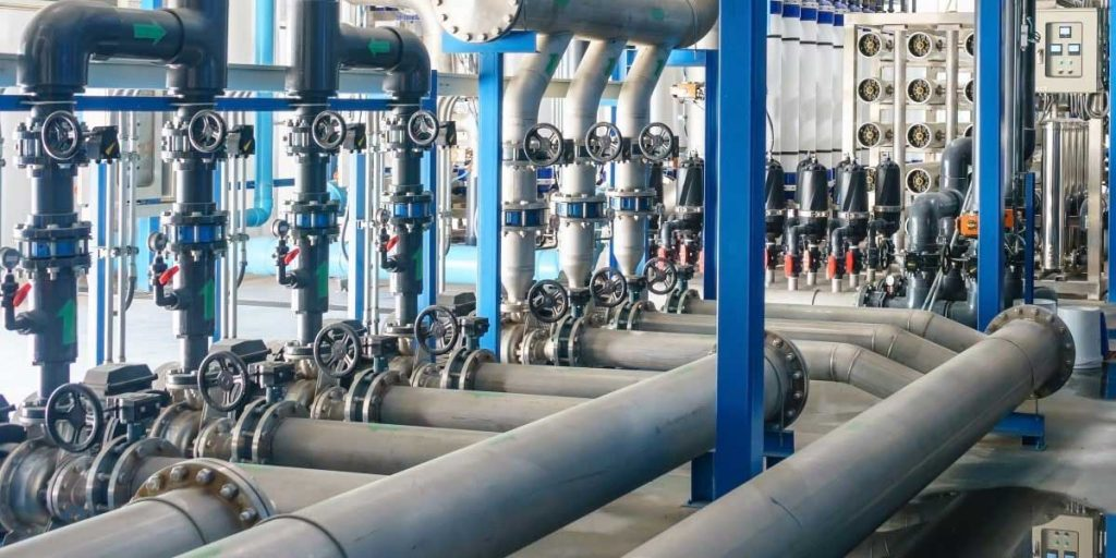 شیر تصفیه آب برای کنترل جریان در اسمز معکوس