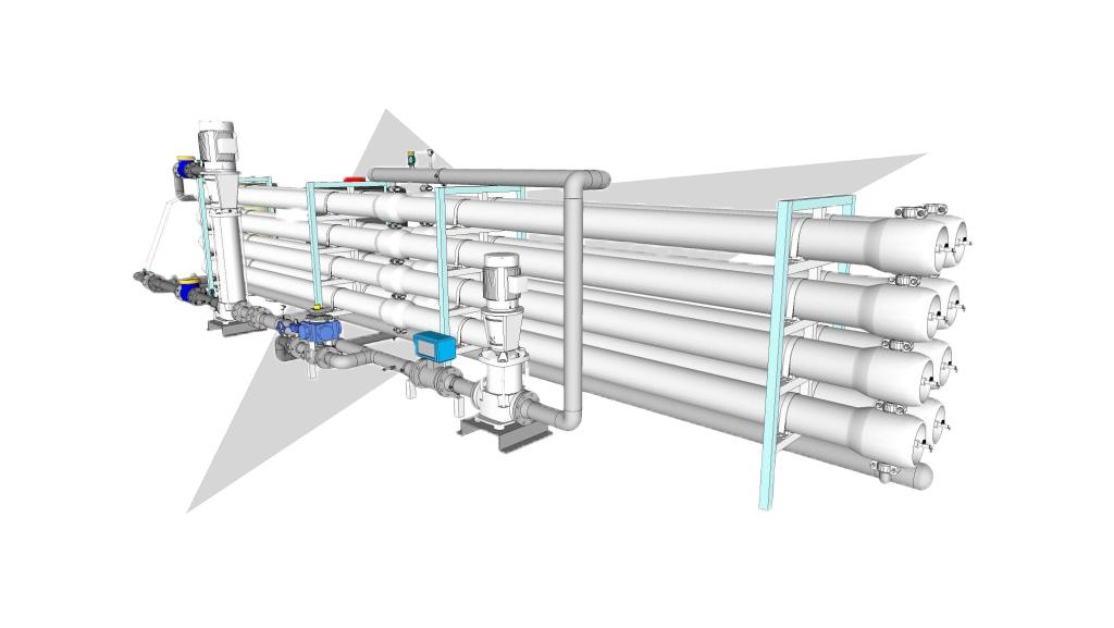 اجزای دستگاه تصفیه آب صنعتی
